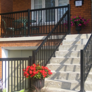 Railing Imp porch black - Copy