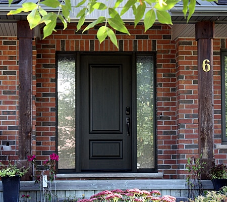 Fiberglass Door and Sidelites