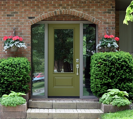 Green Door and Directly Glazed Sidelites