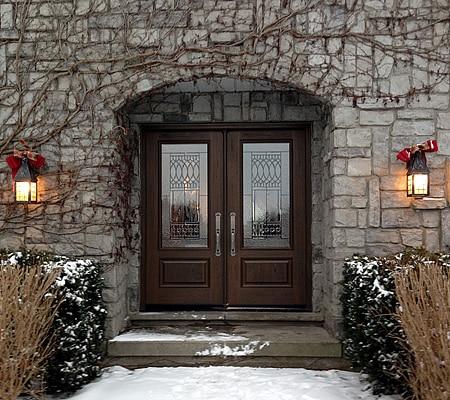 Double Fiberglass Door