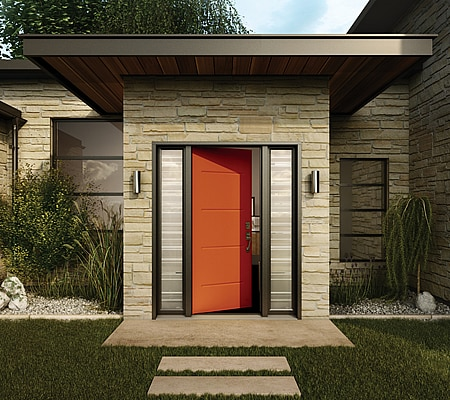 Orange Door and Direct Glaze Sidelites